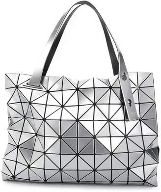 Bao Bao Issey Miyake geometric design tote