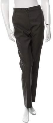 Dries Van Noten Wool-Blend Straight-Leg Pants w/ Tags
