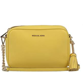 0f6acf43bc0e MICHAEL Michael Kors Yellow Leather Bags For Women - ShopStyle Canada