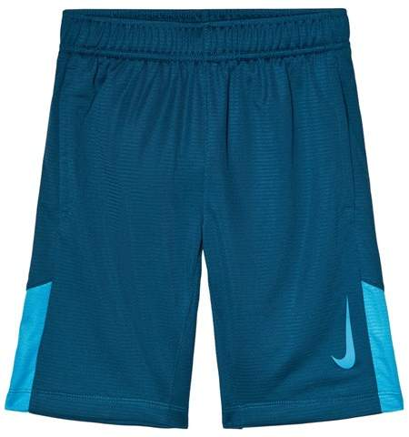 Blue Accelerate Dry Training Shorts