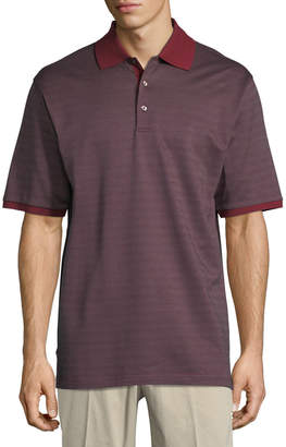Bobby Jones Verde Pindot Jacquard Polo Shirt