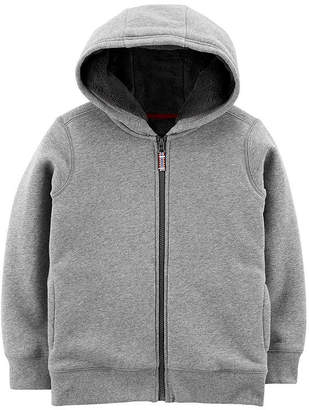 Carter's Sherpa Hooded Fleece Hoodie Boys