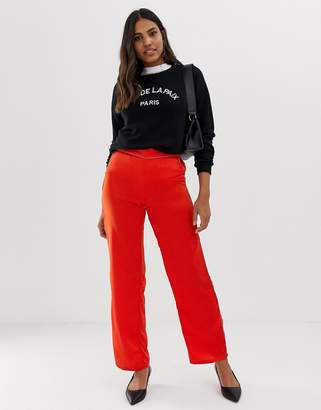 Vila wide leg pants