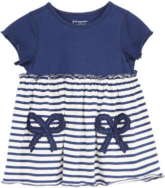 First Impressions Toddler Girls Striped Bows Cotton Tunic, Created for Macy's