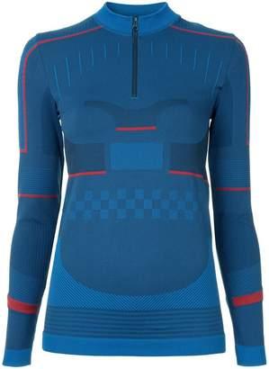 adidas by Stella McCartney half-zip knit top