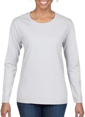 Gildan Women's Heavy Cotton Long Sleeve T-Shirt, 2-Pack