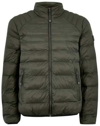 Topman Mens Dark Green Liner Jacket