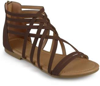 Co Brinley Womens Strappy Gladiator Flat Sandals