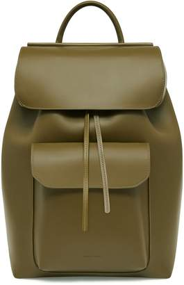 Mansur Gavriel Calf Technical Backpack - Olive