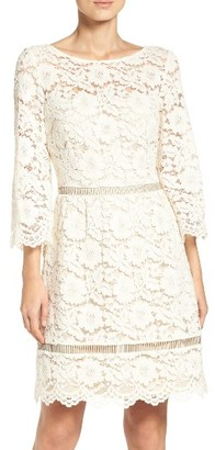 Women's Vince Camuto Lace Fit & Flare Dress $188 thestylecure.com