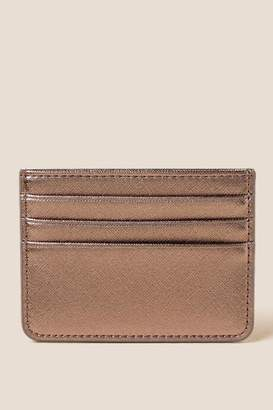 francesca's Kate Safiano Card Case in Pewter - Pewter