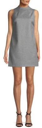 Alice + Olivia Coley Sleeveless Mock-Neck Mini Dress