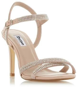 47673cb2de7 Dune - Light Pink  Magdalena  Mid Stiletto Heel Ankle Strap Sandals