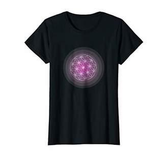 Womens Heart Chakra Pink T-Shirt