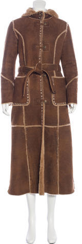 UGG UGG Australia Hooded Shearling Coat