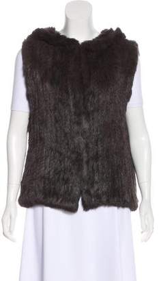 Joie Fur Knit Vest w/ Tags