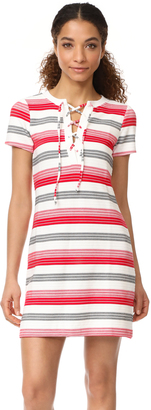 BB Dakota Jack by BB Dakota Lijah Stripe Dress $75 thestylecure.com