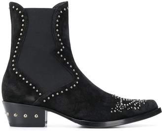 Ermanno Scervino Western studded boots