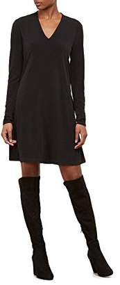 Kenneth Cole Women's Long Sleeve V-Neck Dress