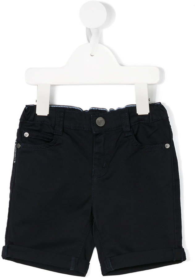 Armani JuniorArmani Junior classic denim shorts