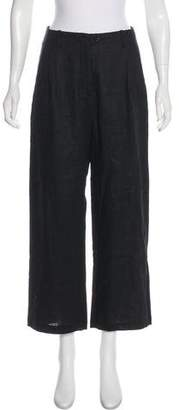 Reformation Linen Wide-Leg Pants