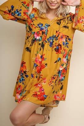Umgee USA Watercolor Wonder dress