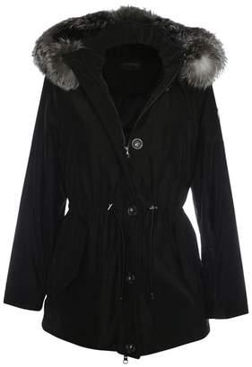Oakwood Alpine Black Fur Trim Hooded Parka