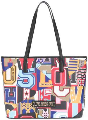 Love Moschino Print Bag - ShopStyle 82845a12877aa