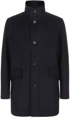 HUGO BOSS Wool And Cashmere Coat