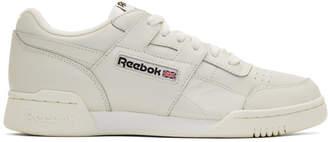 Reebok Classics Grey Workout Plus MU Sneakers