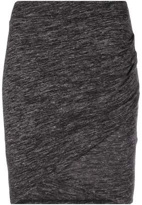 IRO draped asymmetric mini skirt
