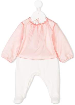 Il Gufo panelled pyjama