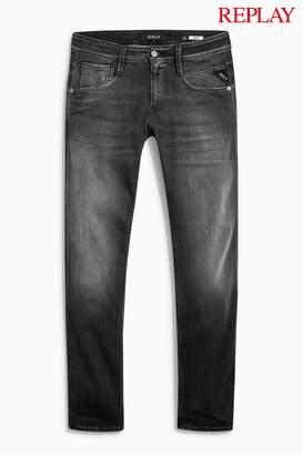 Next Mens Replay Anbass 573 Laserblast Slim Fit Jean