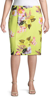 Bold Elements Pencil Skirt - Plus