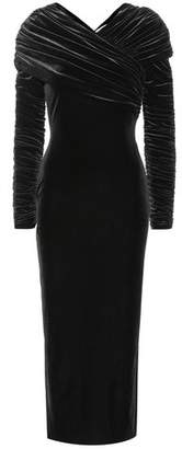 Christopher Kane Velvet midi dress