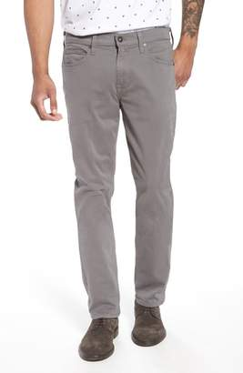 Paige 'Federal' Slim Straight Leg Twill Pants