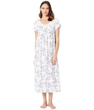 Carole Hochman Short Sleeve Long Gown