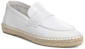 Vince Women's Daria Leather Espadrille Loafers
