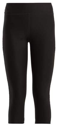 The Upside Nyc Cropped Compression Leggings - Womens - Black