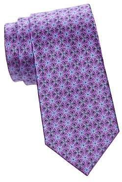 Ermenegildo Zegna Men's Tile Silk Tie