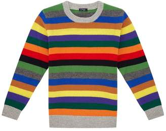 Il Gufo Stripe Wool Sweater