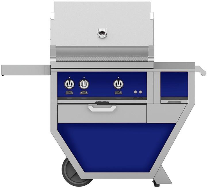 Hestan 54'' Grill with Worktop & Storage Drawer