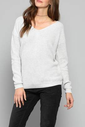Fate Lace Up Sweater