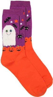 K. Bell Fuzzy Ghost Crew Socks - Women's