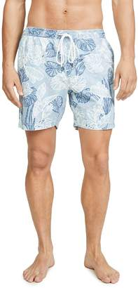 RVCA Dead Flag Floral Swim Shorts