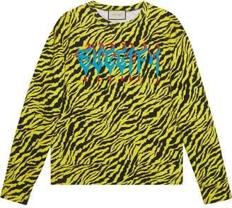 Gucci Sweatshirt with metal Guccify print
