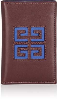 Givenchy Men's Leather Folding Card Case