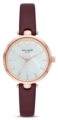 Kate Spade Holland Mother-of-Pearl Watch, 34mm