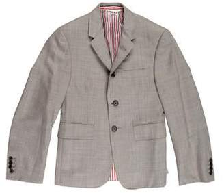 Thom Browne Wool Notch-Lapel Blazer
