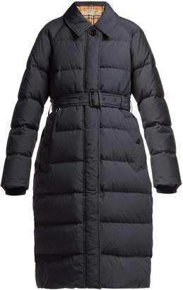 Burberry Bridgnorth vintage check-lined quilted coat
